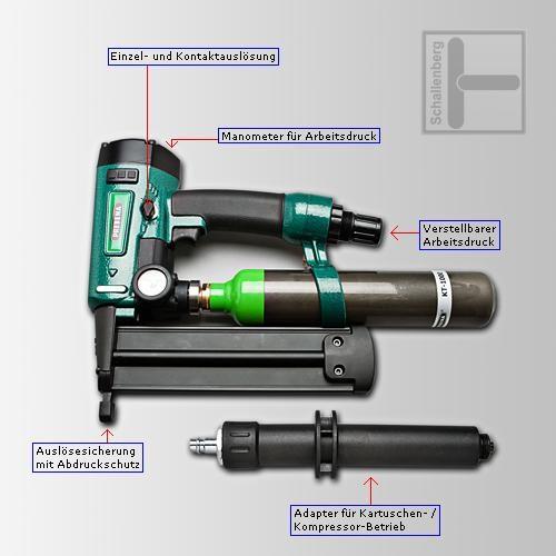 Druckluft-Kartuschennagler PKT-2-J50SD-S