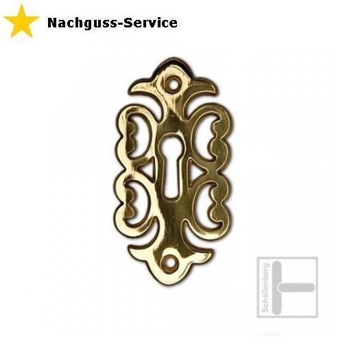 Schlüsselschild-Nachguss (Einzel-Anfertigung)