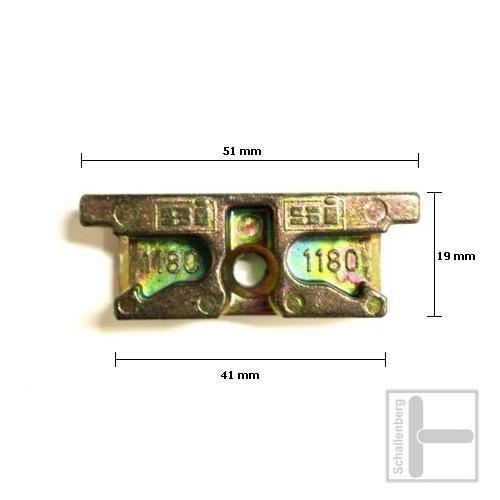 Schließblech Siegenia SI 1180-2