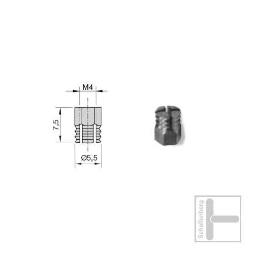 Gewinde-Sockel M4