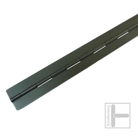 Stangenscharnier / Haubenband 60 mm Eisen