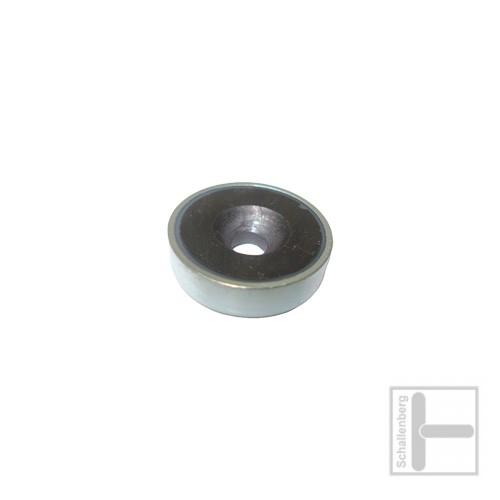 Rundmagnet 16 mm mit Loch