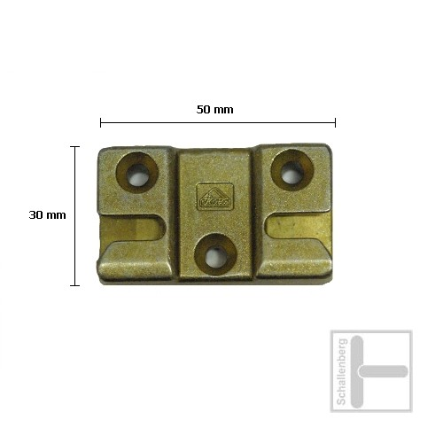 Schließblech Roto 5101