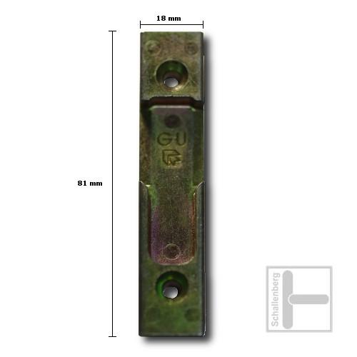 Schließblech GU E15332