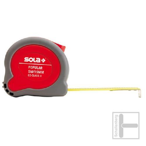 Rollbandmaß Sola Popular / 3 Meter