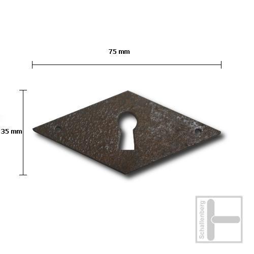 Schlüsselschild Eisen 35.129.1011