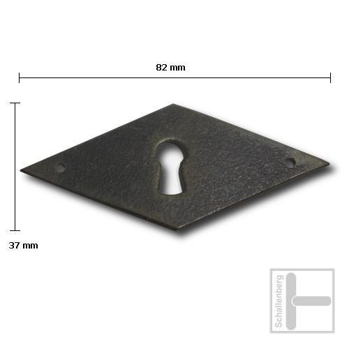 Schlüsselschild Eisen 35.129.1017