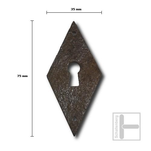 Schlüsselschild Eisen 35.129.2011