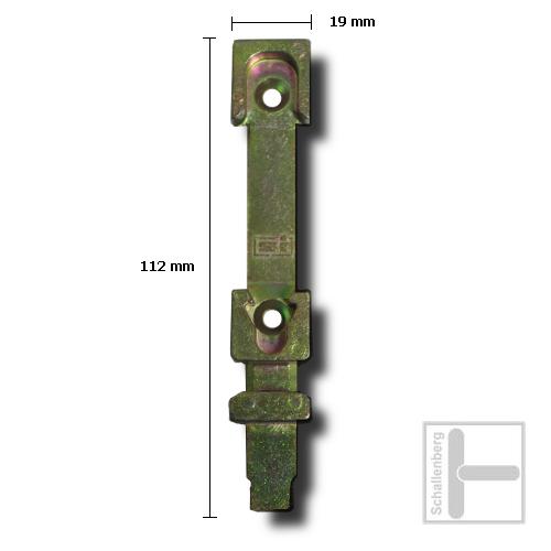 Kipp-Schließblech Siegenia SI 680 ( Alternative 1361)