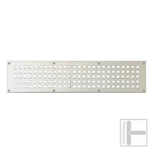 Lüftungsblech FSB-5833 (200x60 mm) | Aluminium