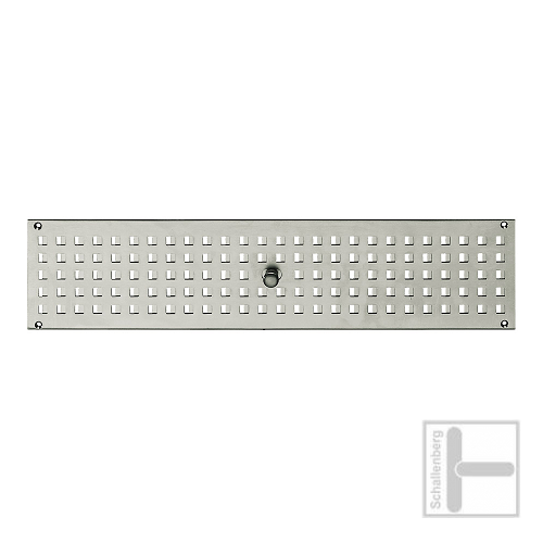 Lüftungsblech FSB-5821 (200x60 mm) | Aluminium
