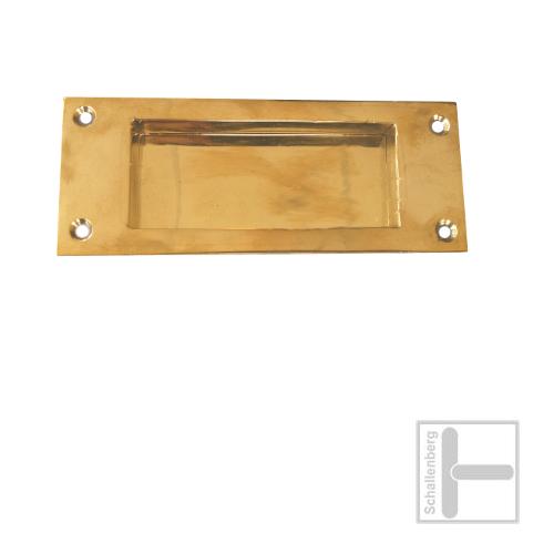 Schiebetürmuschel 66.S350.100 Messing