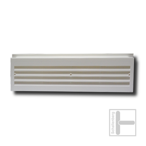 Lüftungsgitter Kunststoff | Weiß | 028.10WE