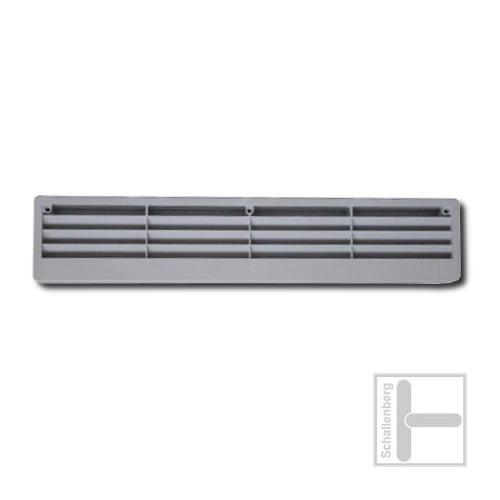 Lüftungsgitter Kunststoff | Grau | 028.10GR