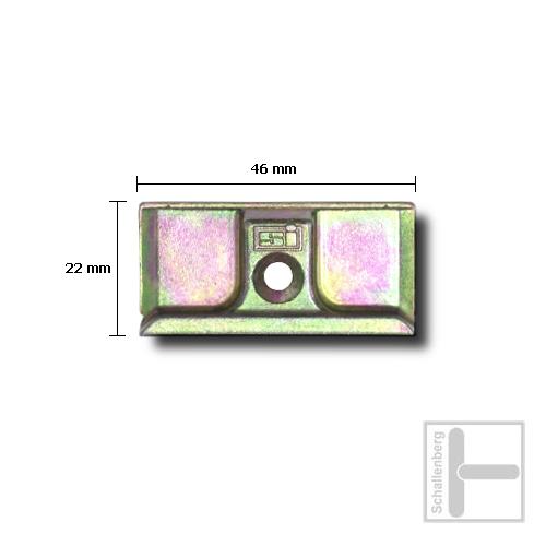 Schließblech Siegenia SI 580-2