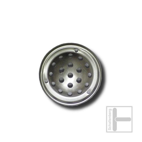 Luftrosette Nickel   40 mm   028.R.14-NI