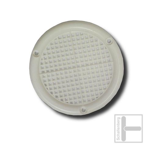 Luftrosette Kunststoff | 028.R04.WE | Weiß