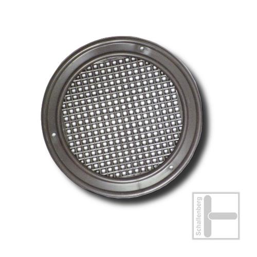 Luftrosette Kunststoff | 028.R04.SC | Schwarz
