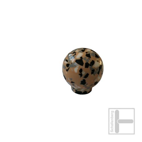 Kunstharz Möbelknopf Jado Kugel 20