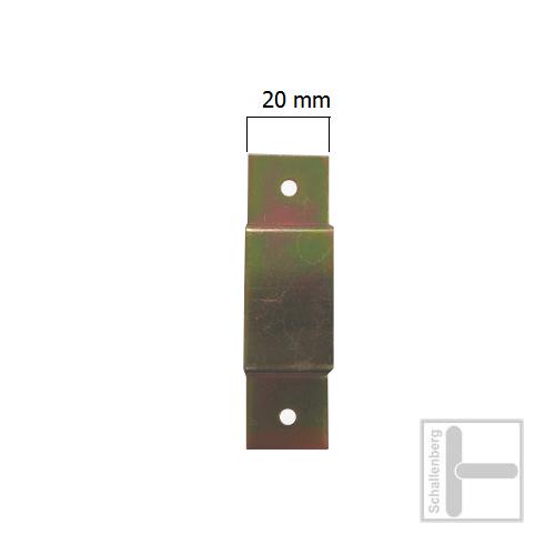 Schlaufe T 16 N  ( 2 Schraublöcher )