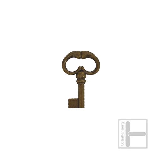 Möbelschlüssel Messing eingefärbt 002.1212