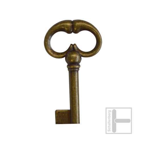 Möbelschlüssel Messing eingefärbt 002.1216