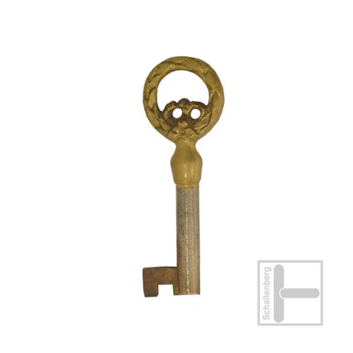Möbelschlüssel Messing poliert 002.1310