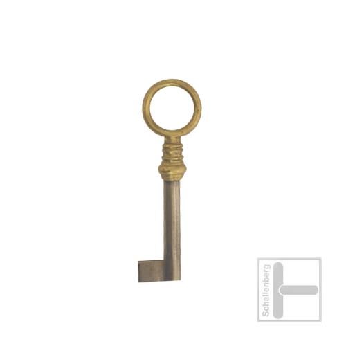 Möbelschlüssel Messing poliert 002.1311
