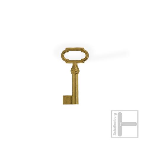 Möbelschlüssel Messing poliert 002.1312
