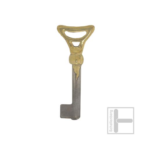 Möbelschlüssel Messing poliert 002.1313