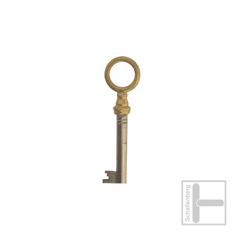 Möbelschlüssel Messing poliert 002.1315