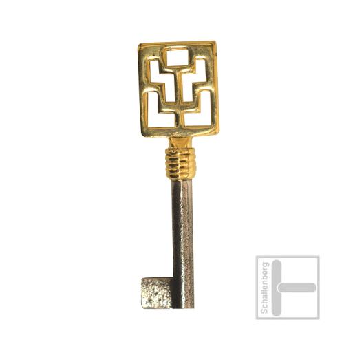 Möbelschlüssel Messing poliert 002.1317