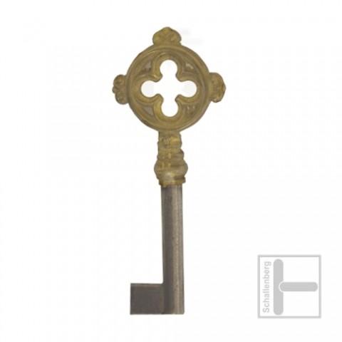 Möbelschlüssel Messing poliert 002.1325