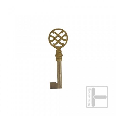 Möbelschlüssel Messing poliert 002.1326