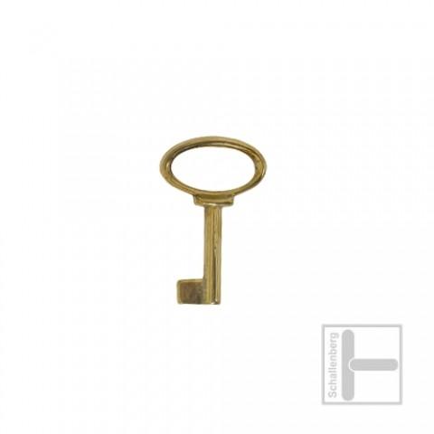 Möbelschlüssel Messing poliert 002.1327
