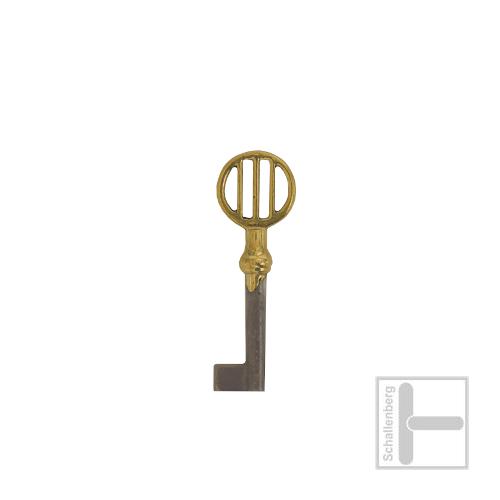 Möbelschlüssel Messing poliert 002.1330