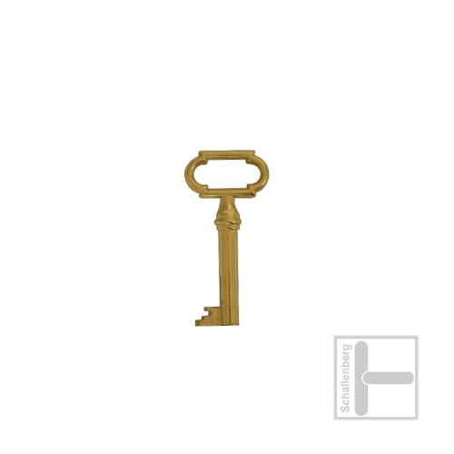 Möbelschlüssel Messing poliert 002.1331