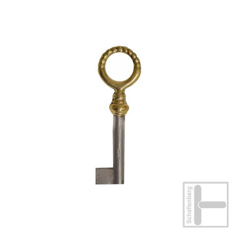 Möbelschlüssel Messing poliert 002.1333