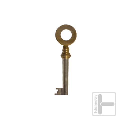 Möbelschlüssel Messing poliert 002.1335