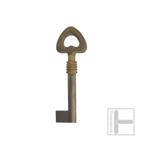 Möbelschlüssel Messing poliert 002.1336