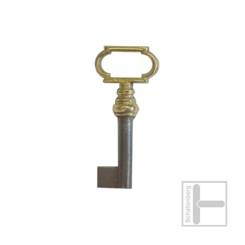 Möbelschlüssel Messing poliert 002.1339