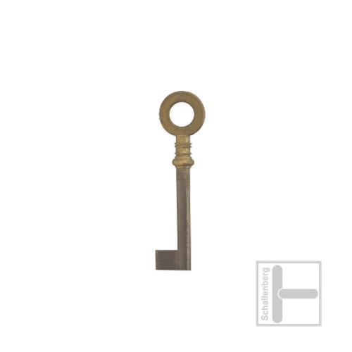 Möbelschlüssel Messing poliert 002.1340