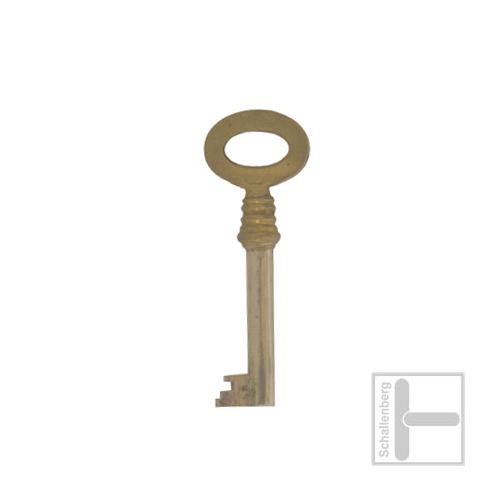 Möbelschlüssel Messing poliert 002.1343