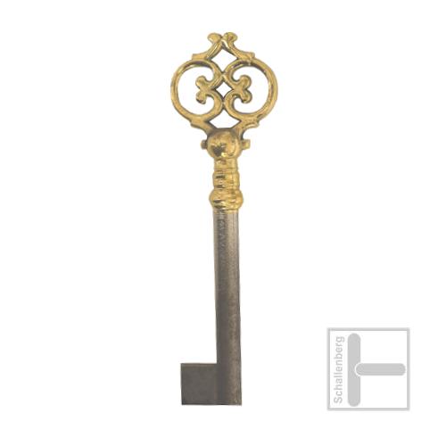 Möbelschlüssel Messing poliert 002.1344