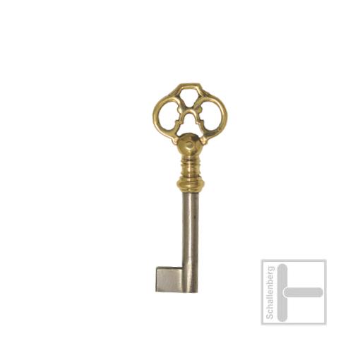 Möbelschlüssel Messing poliert 002.1346