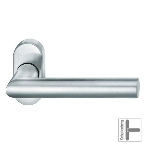 Rahmentürdrücker FSB 09 1076 Aluminium