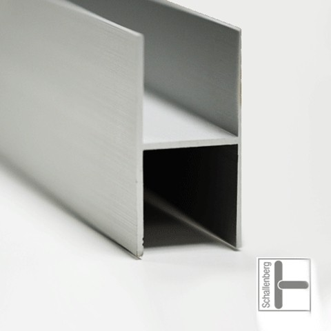 Leichtmetall H-Profil