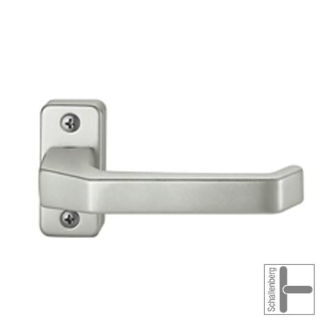 Verkröpfter Rahmentürdrücker FSB 06 0605 Aluminium
