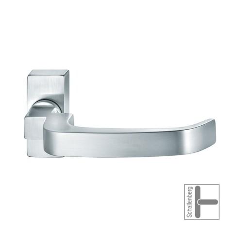 Verkröpfter FH- Rahmentürdrücker FSB 06 1164 Edelstahl