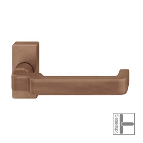 Verkröpfter Rahmentürdrücker FSB 06 1134 Bronze